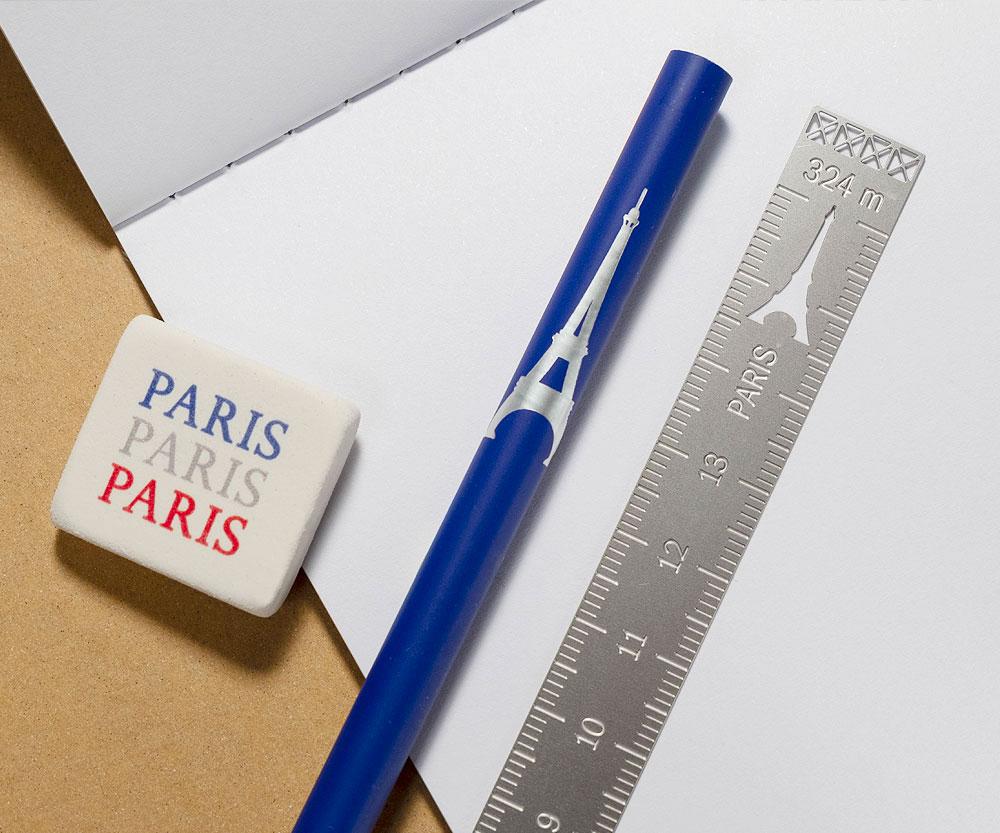 kit papeterie Tour Eiffel tout simplement