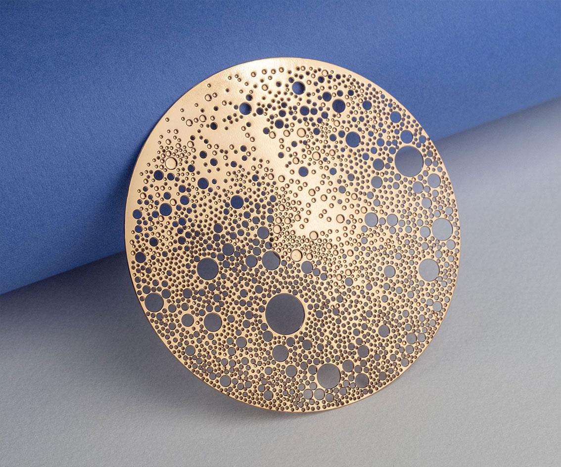 Broche magnétique Lunar
